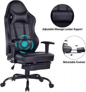 Blue Whale Gaming chair for big tall people